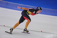 SCHAATSEN: BERLIJN: Sportforum, 06-12-2013, Essent ISU World Cup, 3000m Ladies Division A, Claudia Pechstein (GER), ©foto Martin de Jong