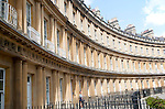King's Circus architect John Wood the Elder and Younger built between 1754 and 1768, Bath, Somerset, England, UK