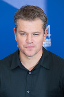 Matt Damon at the Downsizing photocall, 74th Venice Film Festival in Italy on 30 August 2017.<br /> <br /> Photo: Kristina Afanasyeva/Featureflash/SilverHub<br /> 0208 004 5359<br /> sales@silverhubmedia.com