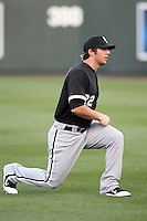 Brent Morel #22 of the Chicago White Sox plays in a spring training game against the Arizona Diamondbacks at Salt River Fields on March 10, 2011 in Scottsdale, Arizona. .Photo by:  Bill Mitchell/Four Seam Images.
