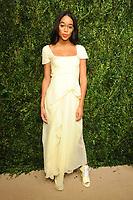 NEW YORK, NY - NOVEMBER 6: Lauren Harrier at the 14th Annual CFDA Vogue Fashion Fund Gala at Weylin in Brooklyn, New York City on November 6, 2017. Credit: John Palmer/MediaPunch