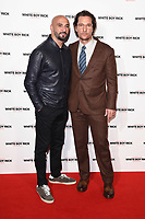 "LONDON, UK. November 27, 2018: Yann Demange & Matthew McConaughey at the ""White Boy Rick"" screening at the Picturehouse Central, London.<br /> Picture: Steve Vas/Featureflash"