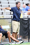 04 September 2011: UCSB head coach Tim Vom Steeg. The University of California Santa Barbara Broncos defeated the North Carolina State University Wolfpack 1-0 at Koskinen Stadium in Durham, North Carolina in an NCAA Division I Men's Soccer game.