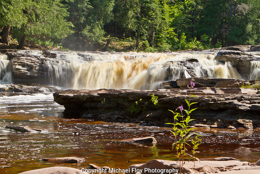 Nawadaha Falls, Presque Isle River, Porcupine Mountains Wilderness State Park