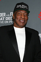 "LOS ANGELES - DEC 1:  Earnie Shavers at the Heavyweight Championship Of The World ""Wilder vs. Fury"" - Arrivals at the Staples Center on December 1, 2018 in Los Angeles, CA"