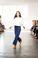 Creatures Of Comfort <br />  catwalk fashion show at New York Fashion Week<br /> Spring Summer 2018<br /> in New York, USA September 2017.<br /> CAP/GOL<br /> &copy;GOL/Capital Pictures