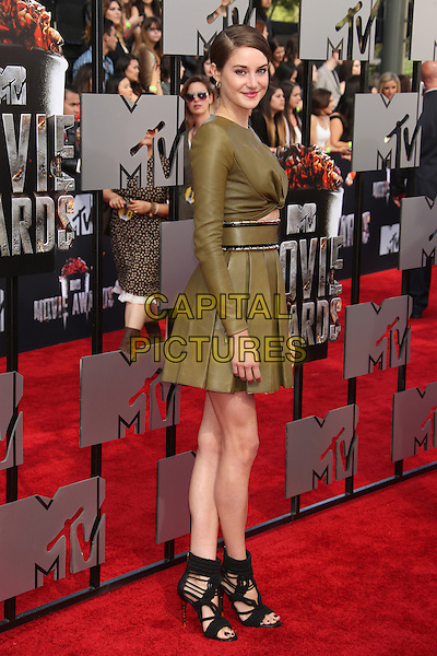 LOS ANGELES, CA - APRIL 13: Jennifer Lawrence at the 2014 MTV Movie Awards at Nokia Theatre L.A. Live on April 13, 2014 in Los Angeles, California. <br /> CAP/MPI/JO<br /> &copy;Janice Ogata/MPI/Capital Pictures