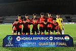 QF4 - Winner Group D vs Runner-up Group C - AFC U-16 Championship Malaysia 2018