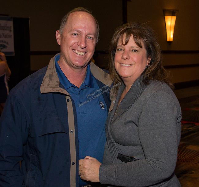 Dave and Venetia Gray during the 35th Annual Bobby Dolan Baseball Dinner in the Reno Ballroom on Thursday, January 17, 2019.