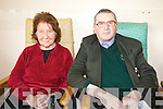 Kathleen O'Brien and Thomas O'Brien from Holy Cross Gardens, Killarney during Positive Ageing Week on Wednesday.