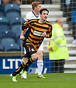 Alloa's Kevin Cawley celebrates after he scores their first goal.