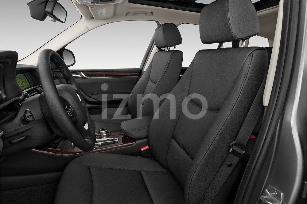 Front seat view of 2017 BMW X3 sDrive28i 5 Door SUV Front Seat  car photos