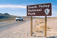 Death Valley National Park, California, CA, USA - Welcome Sign