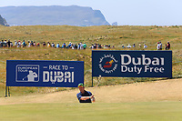 Enda Kenny playing with Lee Slattery (ENG) during the ProAm Day of the 2018 Dubai Duty Free Irish Open, Ballyliffin Golf Club, Ballyliffin, Co Donegal, Ireland.<br /> Picture: Golffile | Jenny Matthews<br /> <br /> <br /> All photo usage must carry mandatory copyright credit (&copy; Golffile | Jenny Matthews)