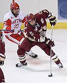 Jason Lawrence, Peter Harrold - The Boston College Eagles defeated the Boston University Terriers 5-0 on Saturday, March 25, 2006, in the Northeast Regional Final at the DCU Center in Worcester, MA.