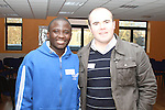 Peter Kidibule and Paul McKeown at the Development Perspectives Meeting in The Barbican...(Photo credit should read Jenny Matthews www.newsfile.ie)....This Picture has been sent you under the conditions enclosed by:.Newsfile Ltd..The Studio,.Millmount Abbey,.Drogheda,.Co Meath..Ireland..Tel: +353(0)41-9871240.Fax: +353(0)41-9871260.GSM: +353(0)86-2500958.email: pictures@newsfile.ie.www.newsfile.ie.