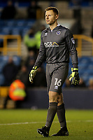 Millwall goalkeeper, David Martin during Millwall vs Barnsley, Emirates FA Cup Football at The Den on 6th January 2018