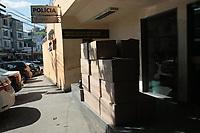 Rio de Janeiro (RJ), 06/03/2020 - Crime-Rio - A Policia Militar do servico reservado P/2 22 BPM fizerem apreensao de varias caixas com capsulas vazias para ser prenchida com cocaina proximo a Favela da Mare a carga foi levado para 21 DP em Bomsucesso zona norte do Rio de Janeiro, nesta sexta-feira (06). (Foto: Celso Barbosa/Codigo 19/Codigo 19)