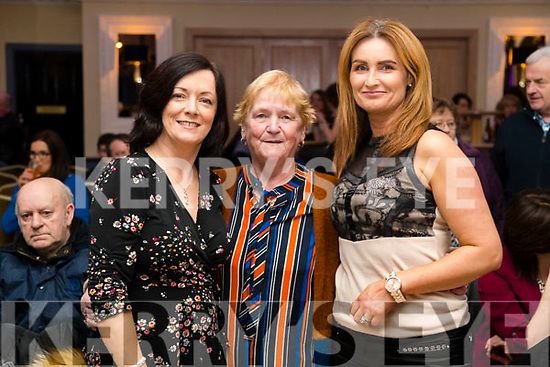 Anne Horgan Ina Horgan and Samanta Palmer, pictured at Ballymac Strictly Come Dancing, at Ballygarry House Hotel & Spa, Tralee, on Saturday night last.