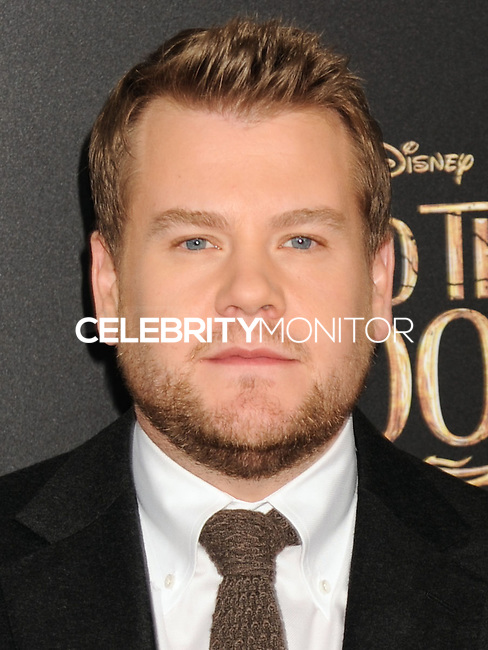 NEW YORK CITY, NY, USA - DECEMBER 08: James Corden arrives at the World Premiere Of Walt Disney Pictures' 'Into The Woods' held at the Ziegfeld Theatre on December 8, 2014 in New York City, New York, United States. (Photo by Celebrity Monitor)