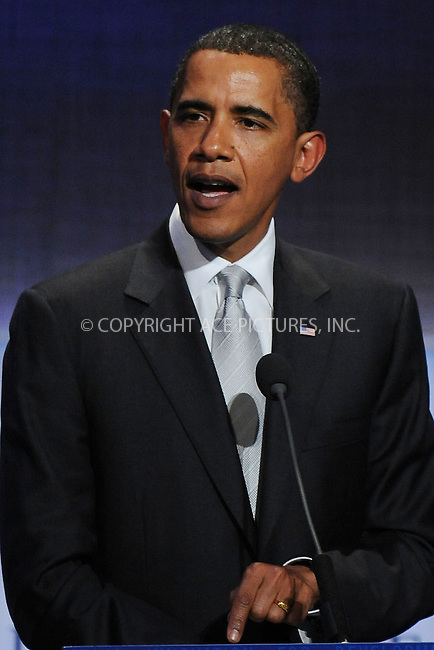 WWW.ACEPIXS.COM . . . . . ....September 22 2009, New York City....U.S. President Barack Obama speaking at the Clinton Global Initiative at the Sheraton Hote on September 22, 2009 in New York City....Please byline: KRISTIN CALLAHAN - ACEPIXS.COM.. . . . . . ..Ace Pictures, Inc:  ..tel: (212) 243 8787 or (646) 769 0430..e-mail: info@acepixs.com..web: http://www.acepixs.com