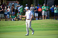 Bill Haas (USA) sinks his putt on 7 during round 6 of the World Golf Championships, Dell Technologies Match Play, Austin Country Club, Austin, Texas, USA. 3/26/2017.<br /> Picture: Golffile | Ken Murray<br /> <br /> <br /> All photo usage must carry mandatory copyright credit (&copy; Golffile | Ken Murray)