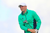 Robbie Cannon from Ireland on the 5th tee during Round 3 Singles of the Men's Home Internationals 2018 at Conwy Golf Club, Conwy, Wales on Friday 14th September 2018.<br /> Picture: Thos Caffrey / Golffile<br /> <br /> All photo usage must carry mandatory copyright credit (&copy; Golffile | Thos Caffrey)
