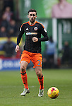 Sheffield United's Dan Lafferty in action during the League One match at the Valley Stadium, London. Picture date: November 26th, 2016. Pic David Klein/Sportimage