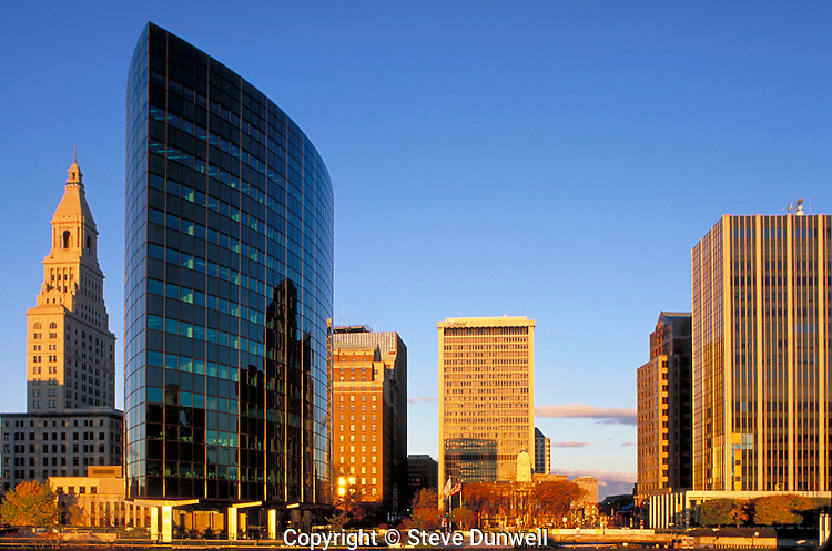 Hartford skyline sunrise, Hartford, CT