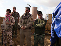 Iraq 2014 <br /> Outpost of peshmergas on the front-line, district of Mahmur, new recruits arriving from Kirkuk   <br /> Irak 2014 <br /> Avant-poste de peshmergas, sur la ligne de front, district de Mahmur, nouvelles recrues arrivant de Kirkouk