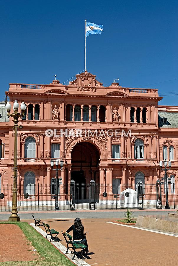 Palácio Casa Rosada. Buenos Aires. Argentina. 2008. Foto de Renata Mello.