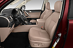 Front seat view of 2020 Lexus GX - 5 Door SUV Front Seat  car photos