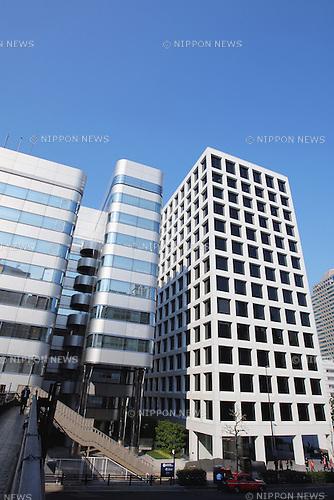 January 01st, 2009, Tokyo, Japan - File Photo showing  Kajima Headquarters, Tokyo, Japan. Shot in 2009. (Photo by Akihiro Sugimoto/Aflo)