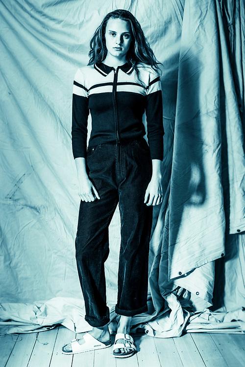 Azalea Models , Alyssa West test shoot. Photo: Nick Clayton