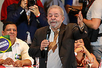 SÃO PAULO,SP, 23.03.2016 - LULA-SP - O ex presidente Luiz Inácio Lula da Silva durante de evento organizado pela Central Única dos Trabalhadores e CTB na Casa de Portugal, bairro da Liberdade, centro de São Paulo na tarde desta quarta-feira, 23. (Foto: Vanessa Carvalho/Brazil Photo Press)