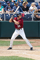 July 6, 2008: The Yakima Bears' Ryan Babineau at-bat during a Northwest League game against the Everett AquaSox at Everett Memorial Stadium in Everett, Washington.