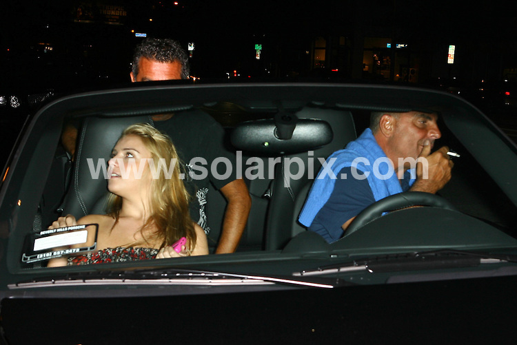 **ALL ROUND PICTURES FROM SOLARPIX.COM**.**WORLDWIDE SYNDICATION RIGHTS**.**NO PUBLICATION IN USA, DENMARK, GERMANY OR RUSSIA.Fashion designer Christian Audigier out with his daughter Crystal Rock Audigier for a late night dinner at Madeo Restaurant in Beverly Hills. Beverly Hills, USA. 17th August 2008..This pic: Crystal Rock Audigier and Christian Audigier..JOB REF: 7051 LAP/Lancer        DATE: 17_08_2008.**MUST CREDIT SOLARPIX.COM OR DOUBLE FEE WILL BE CHARGED* *UNDER NO CIRCUMSTANCES IS THIS IMAGE TO BE REPRODUCED FOR ANY ONLINE EDITION WITHOUT PRIOR PERMISSION*