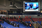 Bolton Wanderers 3 Liverpool 1, 21/01/2012. Reebok Stadium, Premier League. Home supporters making their way out of the stadium at the Reebok Stadium, after Bolton Wanderers took on Liverpool in a Barclays Premier League game. The match was won by Bolton by 3 goals to 1, watched by a near-capacity crowd of 26,854. The win lifted Bolton out of the relegation places in England's top division, while Liverpool remained seventh. Photo by Colin McPherson.