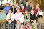 CHRISTENING: Dan and Martina Mahony, Causeway, celebrated the christening of their daughter Mairead with family and friends in the Ballyroe Heights Hotel on Sunday afternoon.   Copyright Kerry's Eye 2008