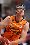 Valencia Basket Club's Justin Doellman during Spanish Basketball King's Cup match.February 7,2014. (ALTERPHOTOS/Acero)