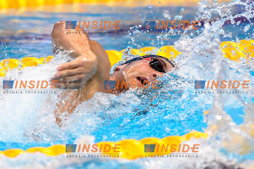 Gabriele DETTI ITA <br /> 1500m Freestyle Men <br /> London, Queen Elizabeth II Olympic Park Pool <br /> LEN 2016 European Aquatics Elite Championships <br /> Swimming<br /> Day 09 17-05-2016<br /> Photo Andrea Staccioli/Deepbluemedia/Insidefoto
