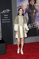 "LOS ANGELES - FEB 5:  Jennifer Connelly at the ""Alita: Battle Angel"" Premiere at the Village Theater on February 5, 2019 in Westwood, CA"