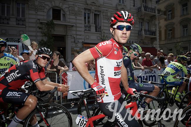 Maxime Monfort (BEL/Lotto-Soudal)<br /> <br /> 2015 Giro<br /> stage 5: La Spezia - Abetone (152km)