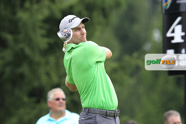 Brendon TODD (USA) tees off the 4th tee during Saturday's Round 3 of the WGC Bridgestone Invitational, held at the Firestone Country Club, Akron, Ohio.: Picture Eoin Clarke, www.golffile.ie: 2nd August 2014