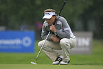 Bernhard Langer (GER) lines up his putt on the 7th green during Day 1 of the BMW International Open at Golf Club Munchen Eichenried, Germany, 23rd June 2011 (Photo Eoin Clarke/www.golffile.ie)