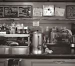 1978. Diner interior.