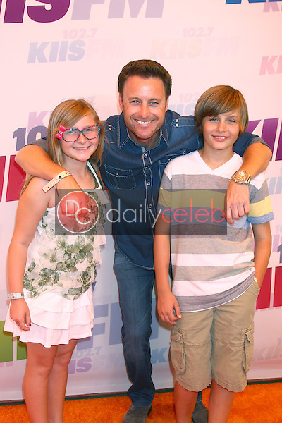 Chris Harrison and kids<br /> at the 2013 Wango Tango concert produced by KIIS-FM, Home Depot Center, Carson, CA 05-11-13<br /> David Edwards/DailyCeleb.Com 818-249-4998