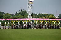 FUCHU,JAPAN-MAY 21: The Japanese Oaks starts at Tokyo Racecourse on May 21,2017 in Fuchu,Tokyo,Japan (Photo by Kaz Ishida/Eclipse Sportswire/Getty Images)