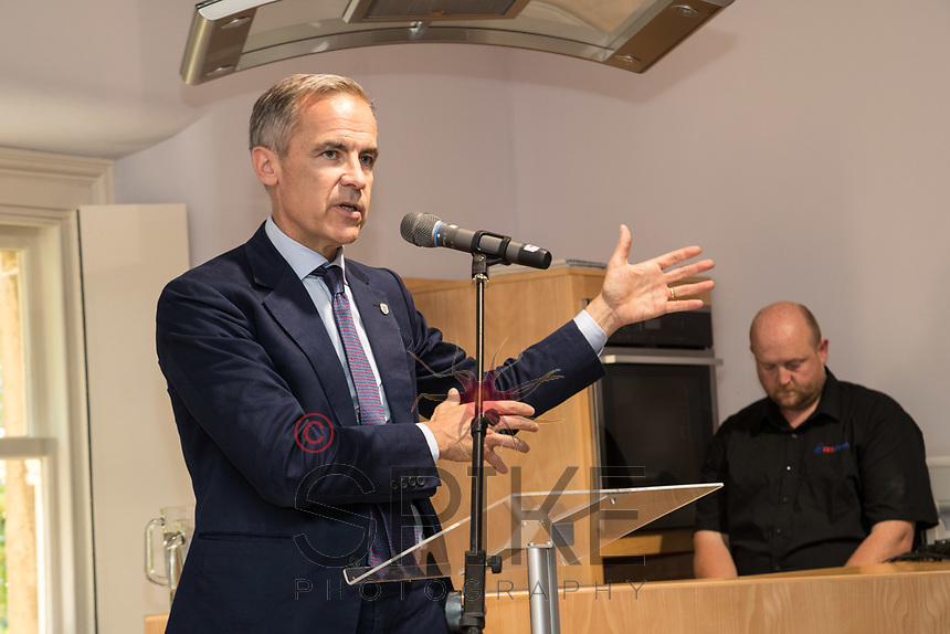 Mark Carney, Governor of the Bank of England visits Bassetlaw
