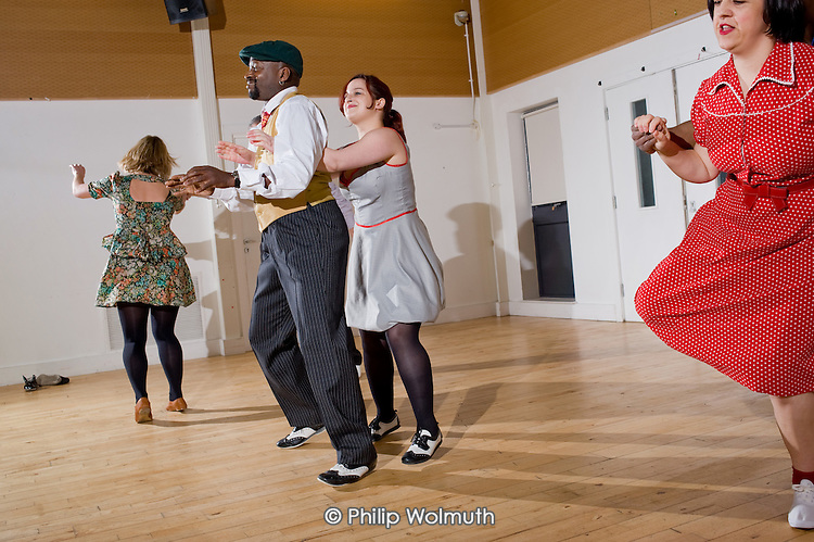 Local dance groups perform at a Generation Dance intergenerational event at the Greenside Community Centre, Lisson Green Estate